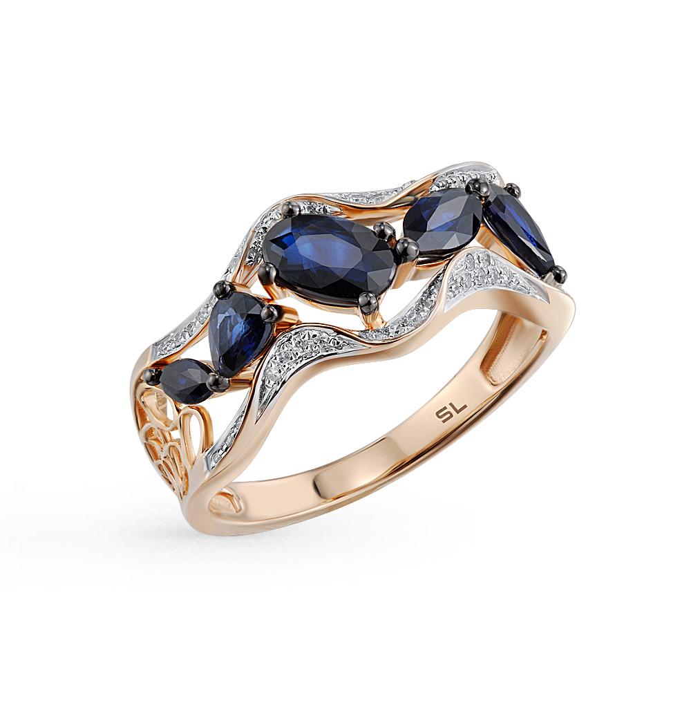 Фото «кольцо с сапфирами»