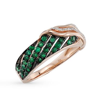 Фото «золотое кольцо с изумрудами»