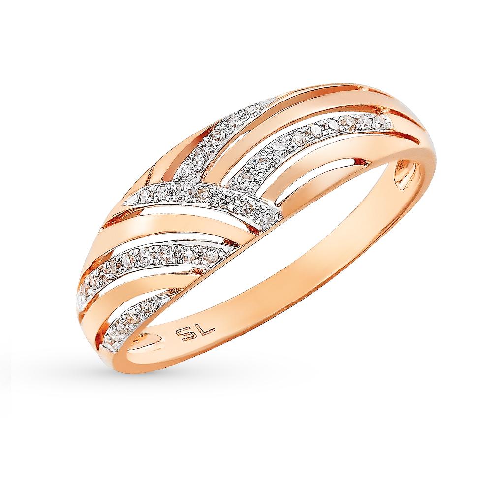 Фото «золотое кольцо с бриллиантами, цаворитами и эмалью»