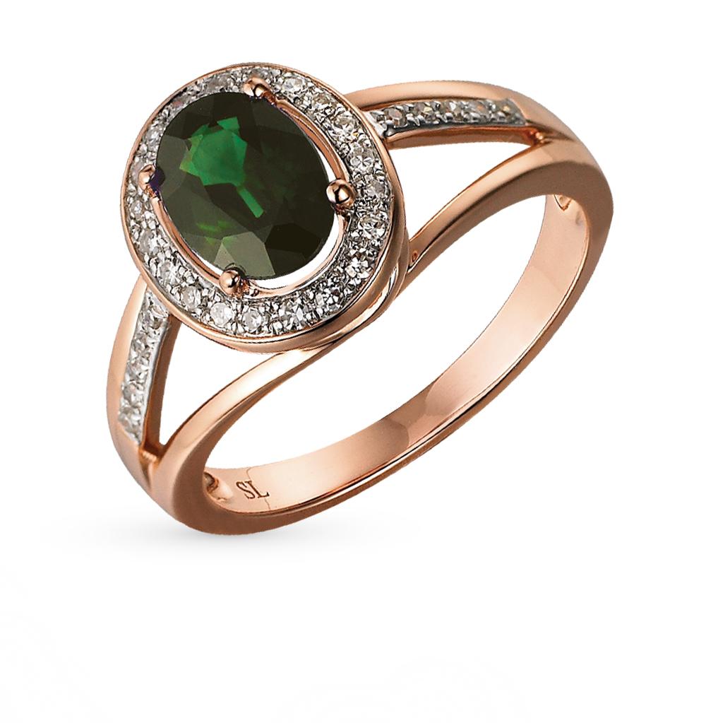 Фото «кольцо с бриллиантами и изумрудами»