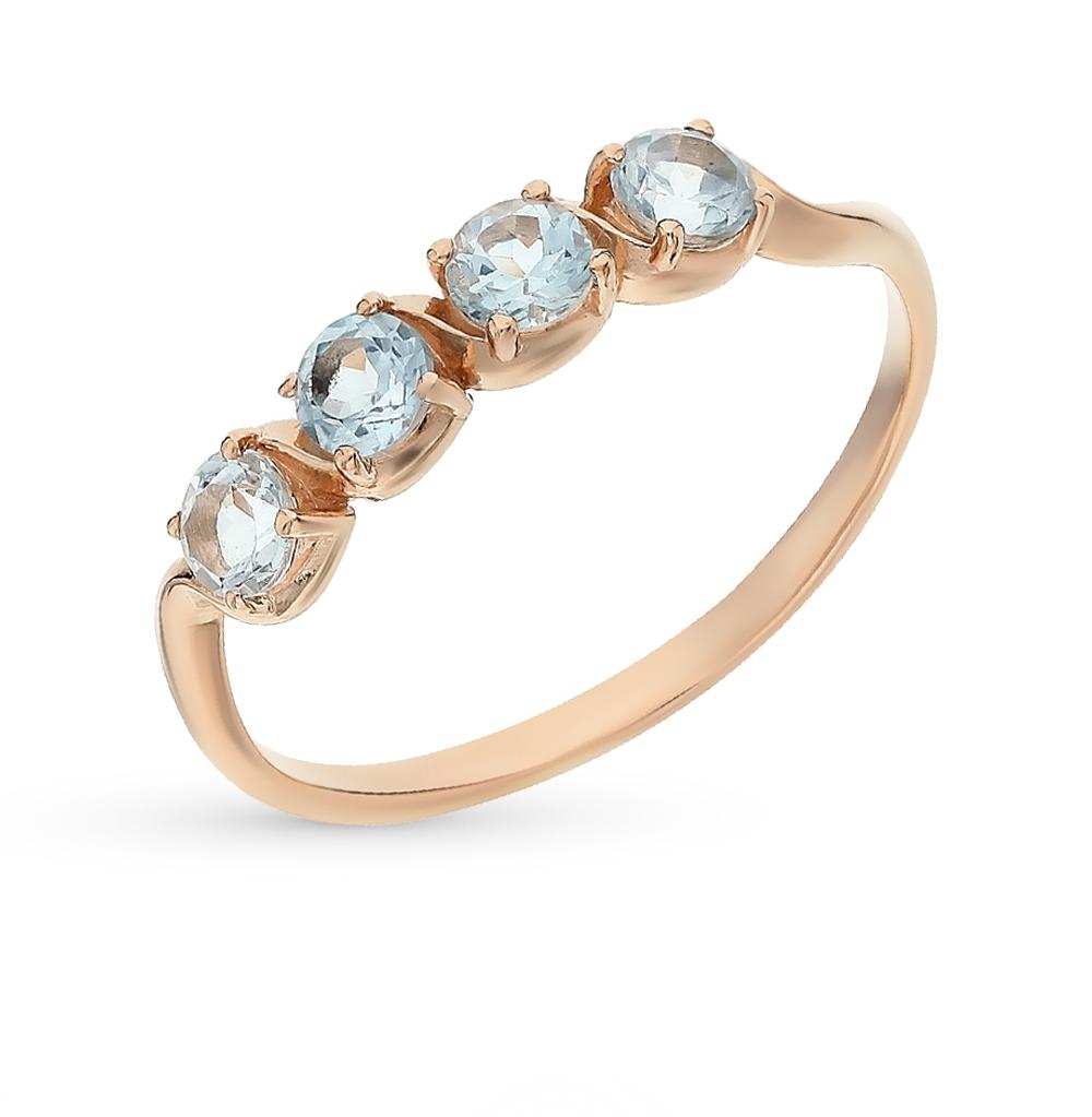 Фото «золото кольцо с топазами»